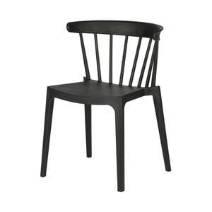 Čierna jedálenská stolička DeEekhoorn Bliss