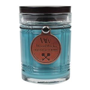 Sviečka s vôňou jedľového dreva Woodwick Antique, doba horenia 50 hodín