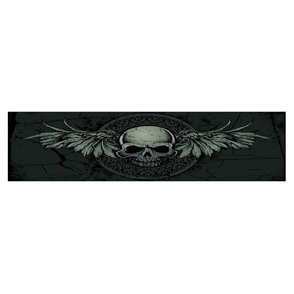 Posteľ Karup Eagle Black / Black Scull,  140x200 cm