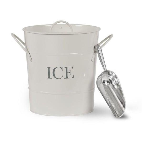 Vedierko na ľad s vrchnákom a lopatkou Garden Trading Ice