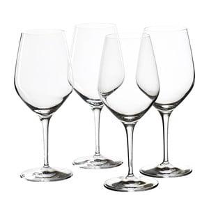 Sada 4 pohárov na červené víno Bordeaux