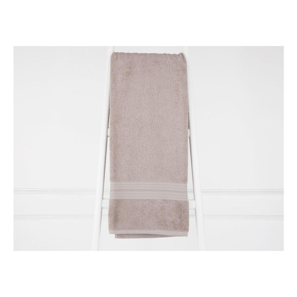Svetlohnedá bavlnená osuška Madame Coco Eartha, 90×150 cm