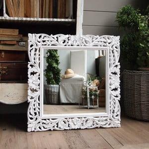 Zrkadlo Milano White, 70x70 cm