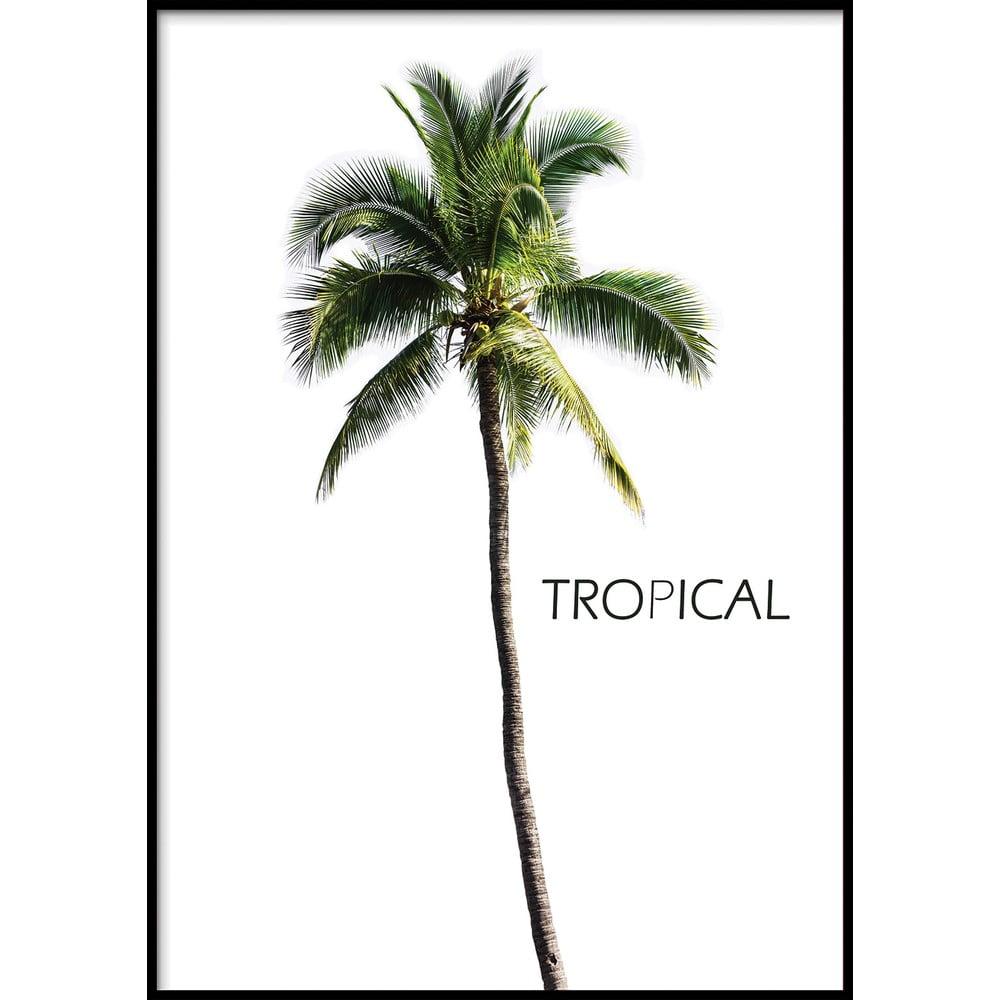 Nástenný plagát v ráme BERMUDA/TROPICAL, 40 x 50 cm