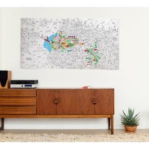 Maľovanka San Francisco XXL (180 x 100 cm)