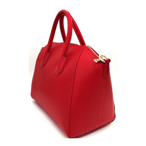 Kožená kabelka Tosca Red