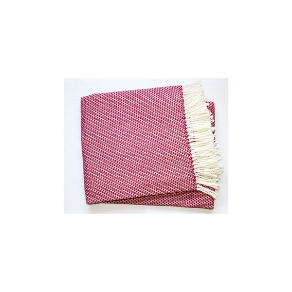 Ružová deka Euromant Zen, 140x180cm