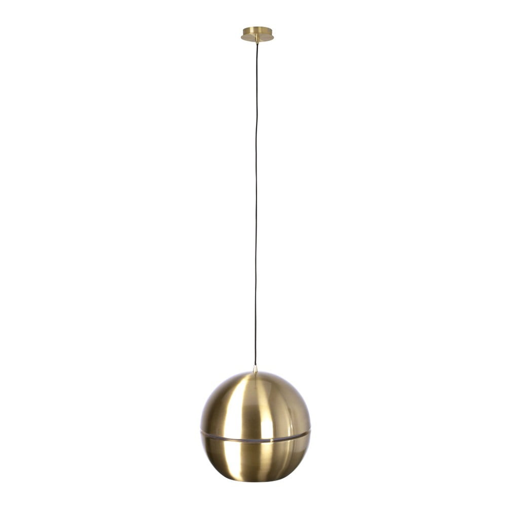 Stropné svietidlo v zlatej farbe Zuiver Retro, Ø 40 cm