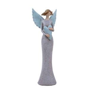 Dekoratívny anjel Ego dekor Etela, výška 40,5 cm