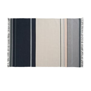 Vlnený koberec Metallum Granite, 140x200 cm