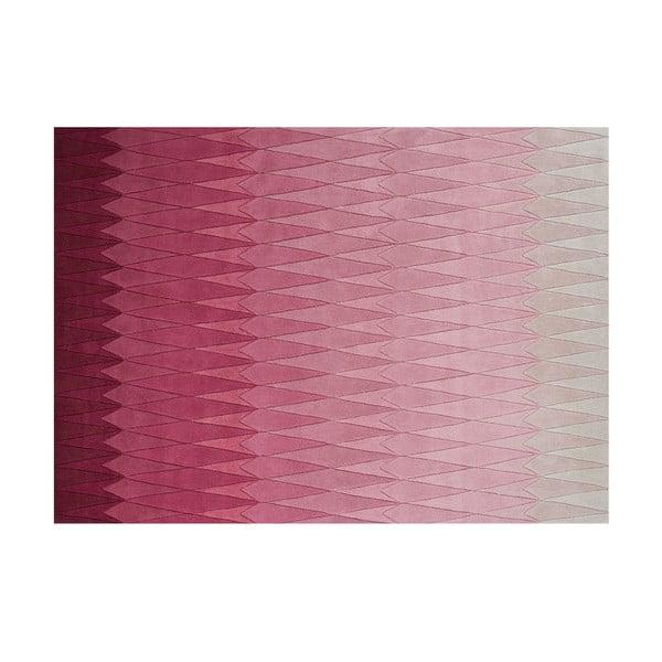 Vlnený koberec Acacia Pink, 170x240 cm