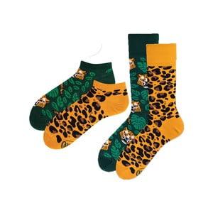 Sada 2 párov klasických a členkových ponožiek Many Mornings El Leopardo, veľ. 43-46