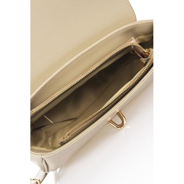 Béžová kožená kabelka Markes Tulisa