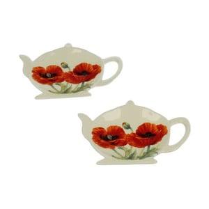 Sada 4 stojanov na čajové vrecúška Duo Gift Maki