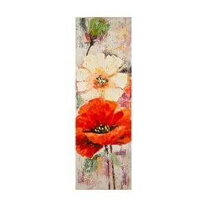 Ručne maľovaný obraz Mauro Ferretti Poppy, 40 x 120 cm
