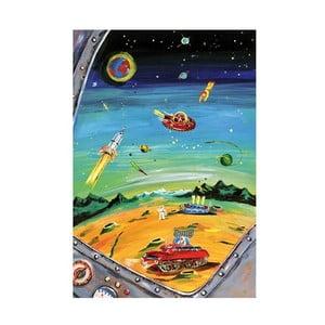 Plagát Mon Petit Art Dans l'Espace, 85×58 cm