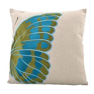 Vankúš Butterfly Left, 45x45 cm
