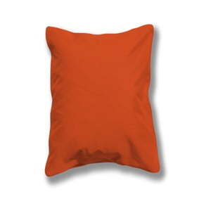 Sada 2 oranžových svietiacich vonkajších vankúšikov Sunvibes, 45×45 cm