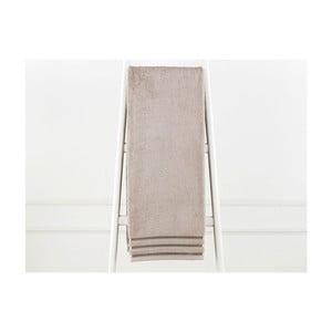 Sivohnedá bavlnená osuška Emily, 90×150 cm