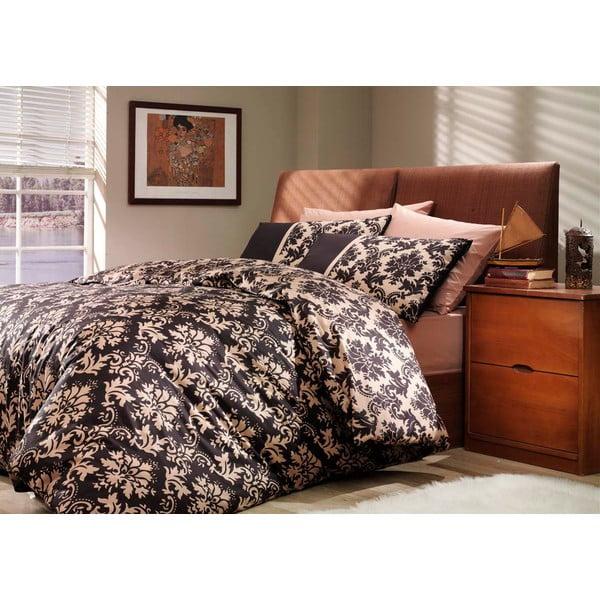 Obliečky s plachtou Avantgarde Black, 200x220 cm