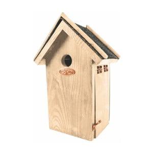 Vtáčia búdka z borovicového dreva Esschert Design Antik, výška 27,4 cm