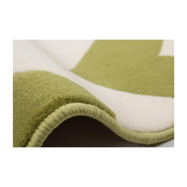 Zeleno-biely koberec Kayoom Maroc 2085 Grun, 160x230cm