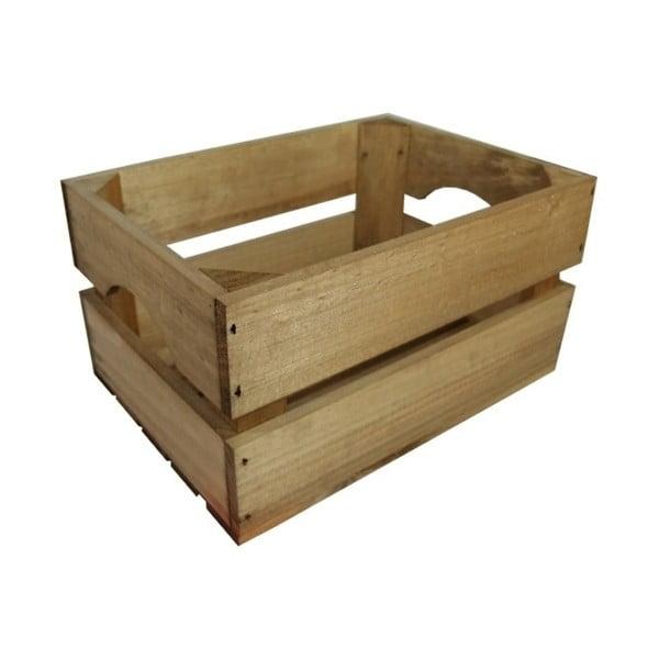 Prepravka Caja Mini Envejecido, 30x16x21 cm