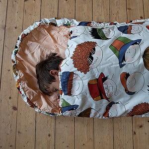 Detský spací vak Bartex Veselé tváre, 70x180cm