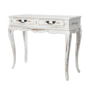 Konzolový stolík Valoni Vintage, 100x41x82 cm