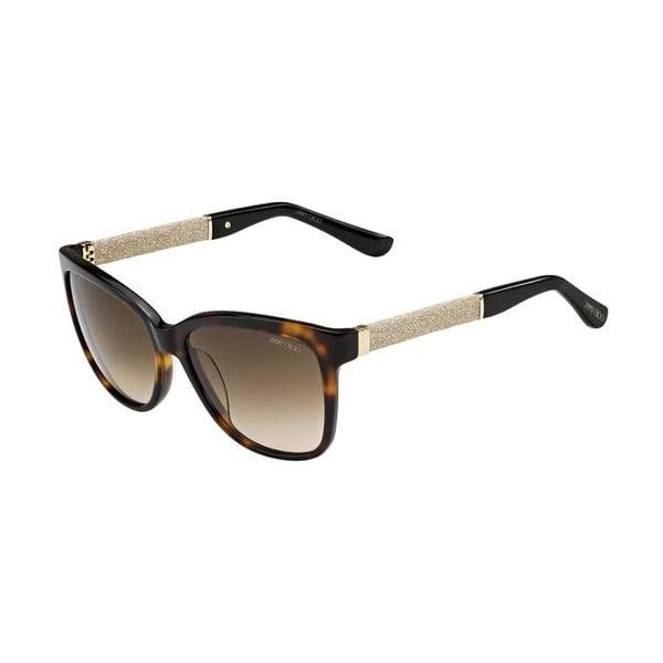 Slnečné okuliare Jimmy Choo Cora Leopard Glitter/Brown