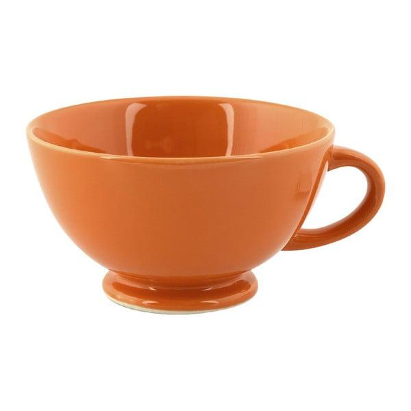 Hrnček Jumbo Cappuccino, oranžový