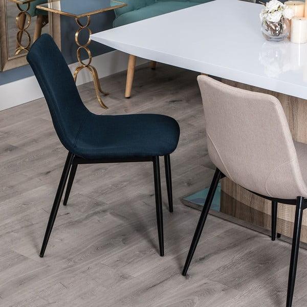 Tmavomodrá stolička Simplicity