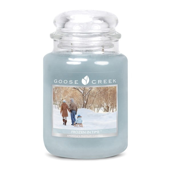 Vonná sviečka v sklenenej dóze Goose Creek Frozen In Time, 0,68 kg