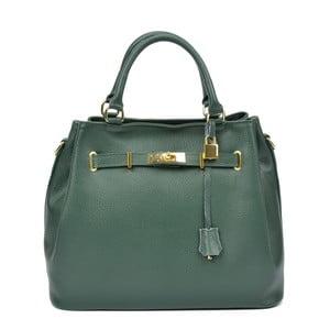 Zelená kožená kabelka Isabella Rhea Elena