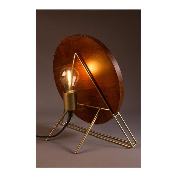 Červená stolová lampa Dutchbone Louis