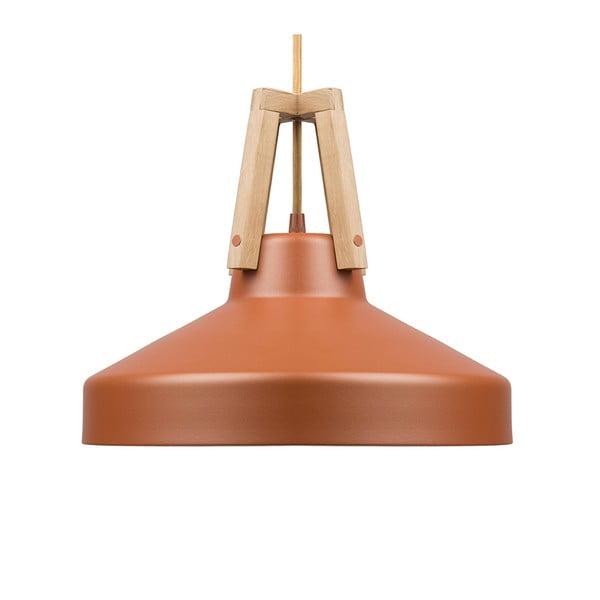 Karamelovohnedé stropné svetlo Loft You Work, 33 cm