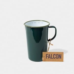 Tmavozelený smaltovaný džbán Falcon Enamelware DoublePint, 1,137 l