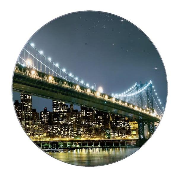 Sklenená podložka pod hrniec Wenko Brooklyn Bridge