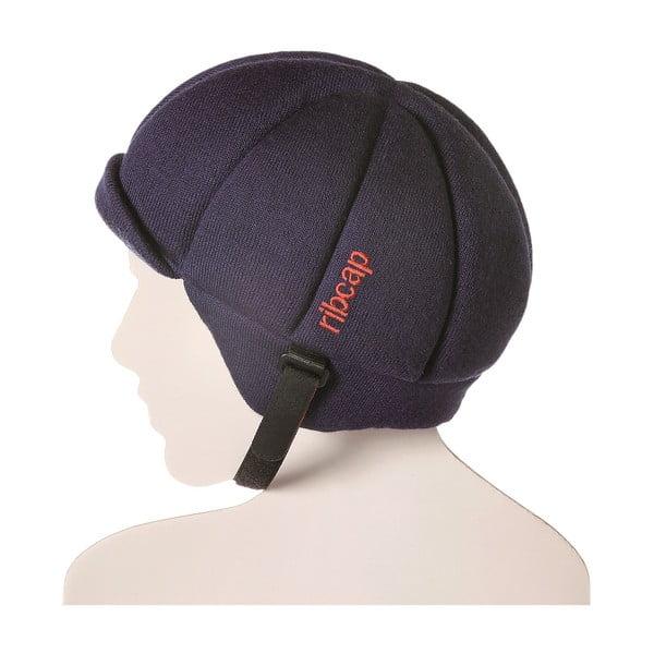 Tmavomodrá čapica s ochrannými prvkami Ribcap Jackson, veľ. S