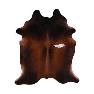 Pravá hovädzia koža Aslaug, 182 x 160 cm