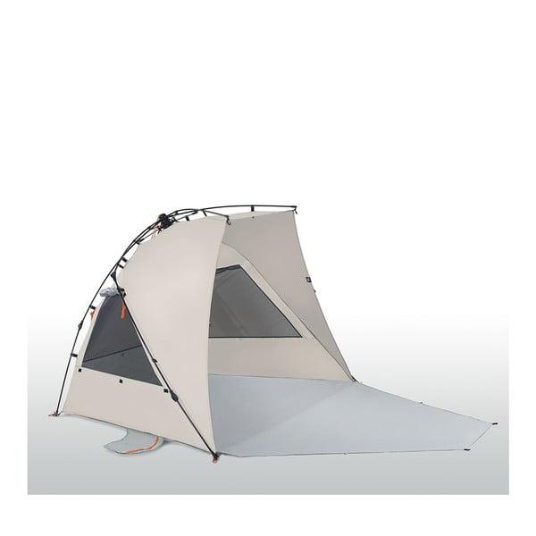 Plážový prístrešok Kau Koho Plus 250x160 cm, hnedý