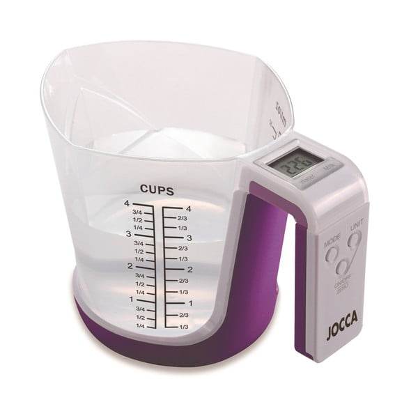 Digitálna váha a odmerka Purple Cup