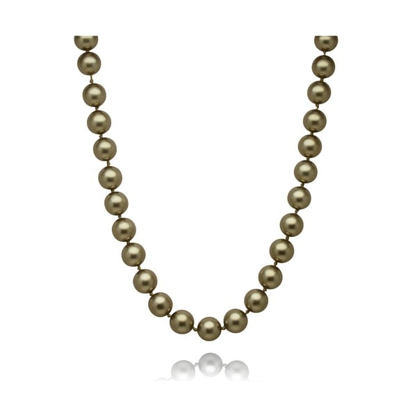 Zelený perlový náhrdelník Mara de Vida Only Me, dĺžka 50cm