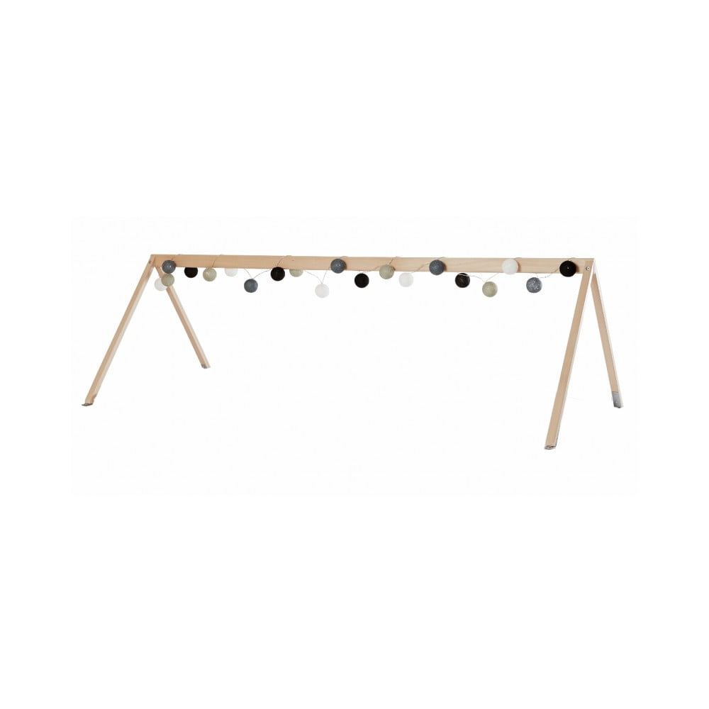 Rám z bukového dreva na striešku na posteľ Manis-h Canopy, 100 x 200 x 90 cm