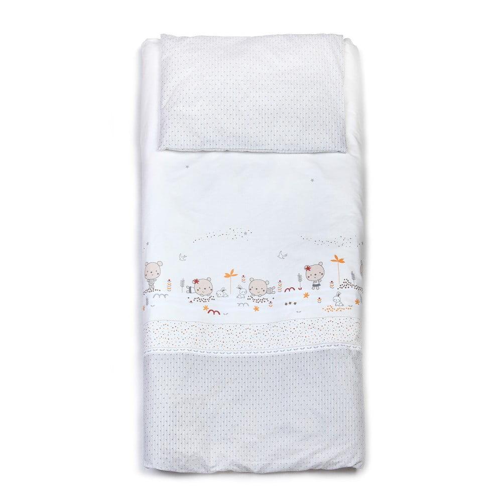 Detské bavlnené obliečky YappyKids Little Bear, 100 × 135 cm