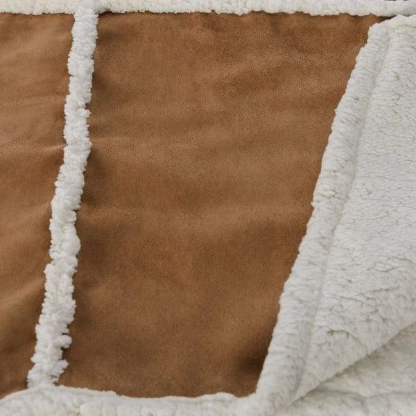Prikrývka Bufalo Beige, 130x170 cm