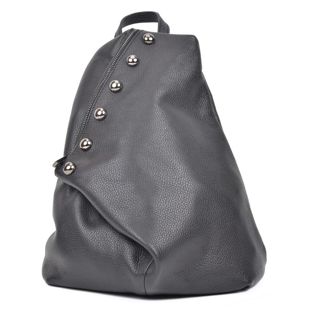 e7f2c2fcf4 Čierny dámsky kožený batoh Luisa Vannini Cole