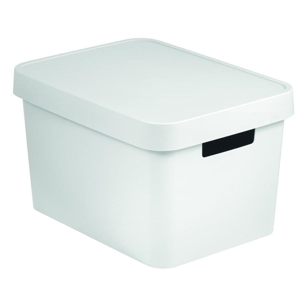 Biely úložný box Curver SIMPLE