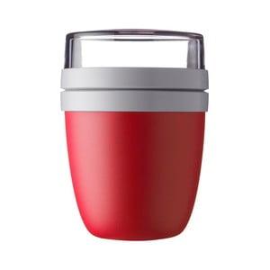 Červený box na obed Rosti Mepal Ellipse, 500 ml