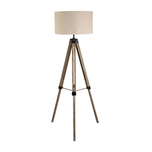 Voľne stojacia lampa Searchlight Tripod, béžová